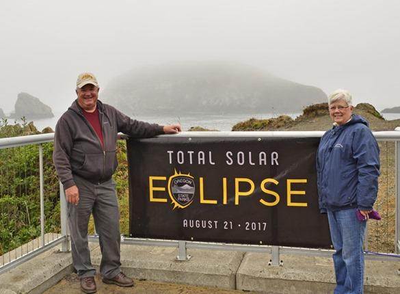 Keith & Brenda Eclipse Sign