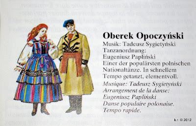 Oberek-Kostüme