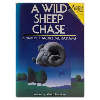 Haruki Murakami: A Wild Sheep Chase Advance Copy