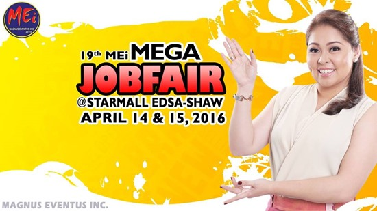 Mega Job Fair April 2016