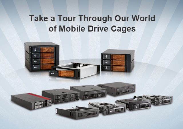 Mobile Drive Cages Website