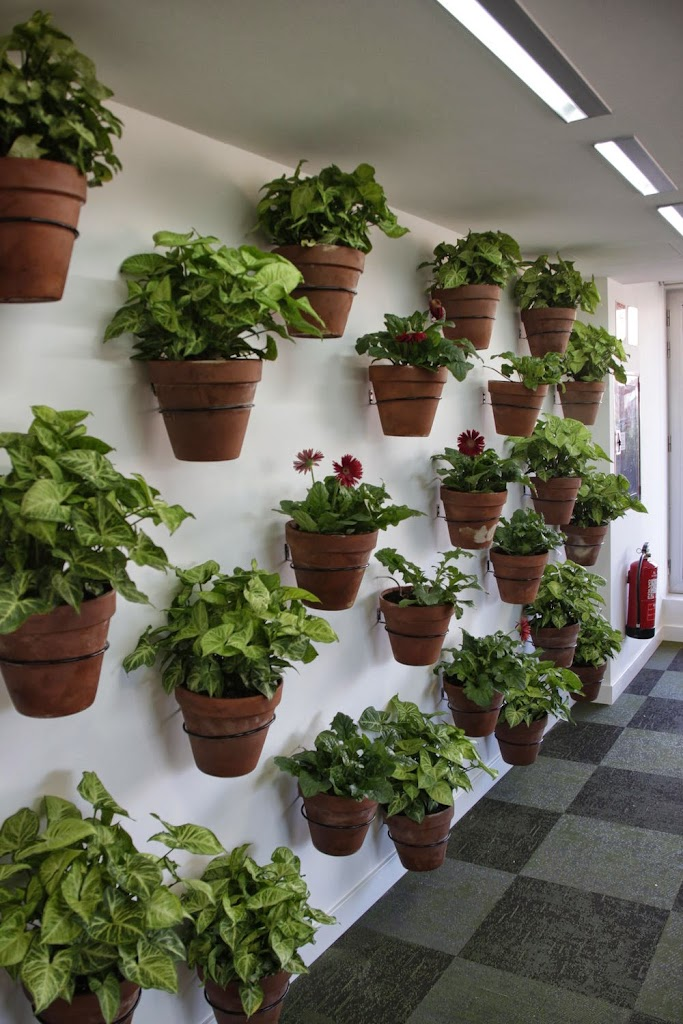 Paisajismo y jardines verticales en madrid alicante forestal for Materas para jardines verticales