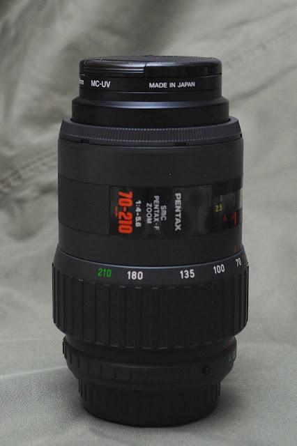 """""""紅標隱星""""SMC Pentax-F 70-210mm F4-5.6"""