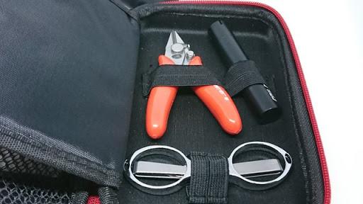 DSC 4060 thumb%255B2%255D - 【DIY/ビルド】「CoilMaster DIY ミニキット」(コイルマスターDIYミニキット)レビュー。簡易VAPEビルド用品とバッグのセットは持ち運びで出先に便利!【小物/工具/VAPE/電子タバコ/VAPE STEEZ/eREC】