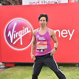 OIC - ENTSIMAGES.COM - Dame Kelly Holmes at the  Virgin Money London Marathon on Blackheath in London, England. 24th April 2016 Photo Mobis Photos/OIC 0203 174 1069