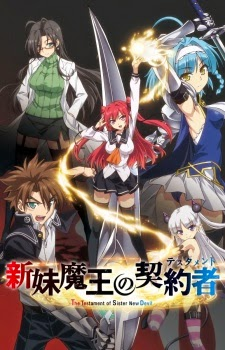 Shinmai Maou no Testament - The Testament of Sister New Devil [Blu-ray] (2015)