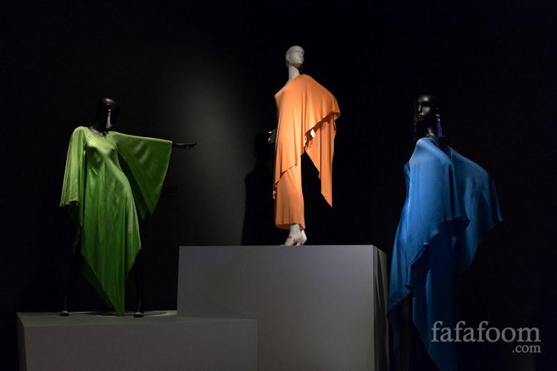"""Versailles"" Showcase of Oscar de la Renta: The Retrospective exhibition at de Young Museum, San Francisco."
