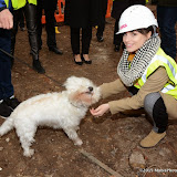 OIC - ENTSIMAGES.COM - Biaco the Dog and Charlotte Riley at the   LAMDA West London campus launch London 12th February 2015