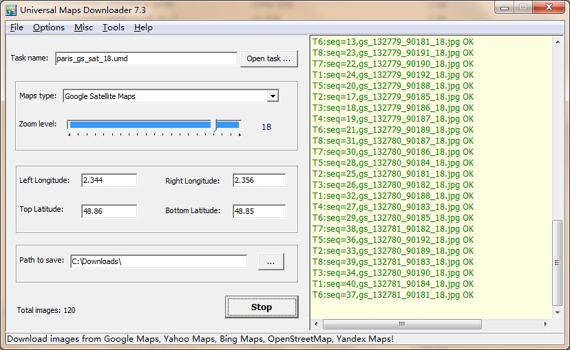AllMapSoft Universal Maps Downloader 9.904