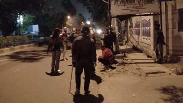 Bawa Golok, Geng Motor Serang FPI saat Pasang Spanduk Habib R1zieq Shihab