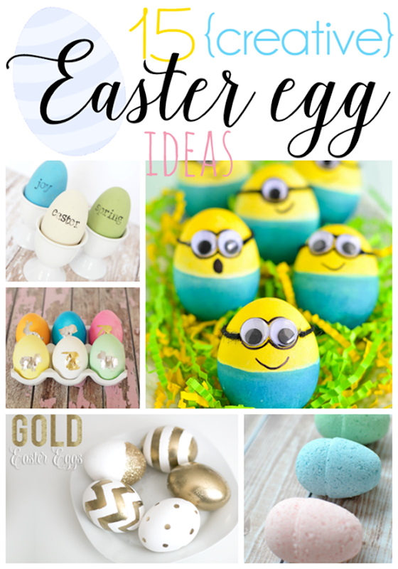 15 Creative Easter Egg Ideas at GingerSnapCrafts.com #Easter #eggs #linkparty #features[3]