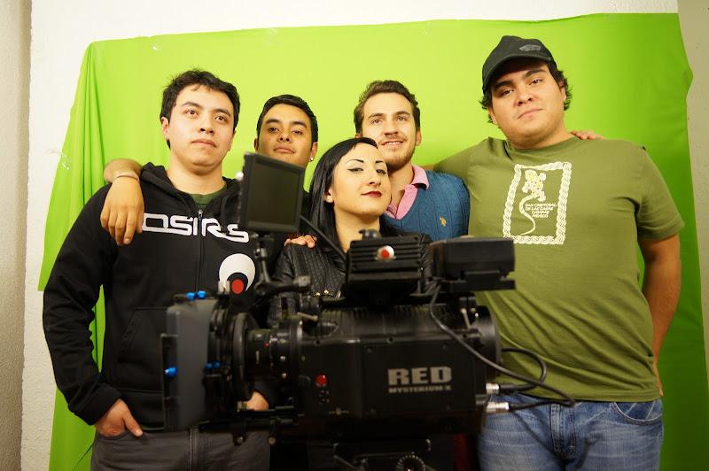 Alumnos del diplomado en animación 3D