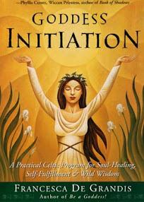 Cover of Francesca De Grandis's Book Goddess Initiation