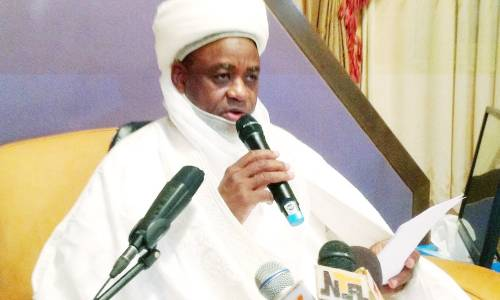 I won't allow it happen, Nobody can divide Nigeria no matter the Diversity - Sultan Of Sokoto insists