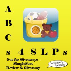 ABCs 4 SLPs SimpleSort