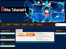 Anime Templates for Blogger: Rikka Takanashi