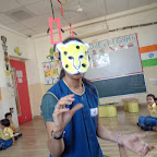 Leopard Mask Making (Nursery) 28.10.2015