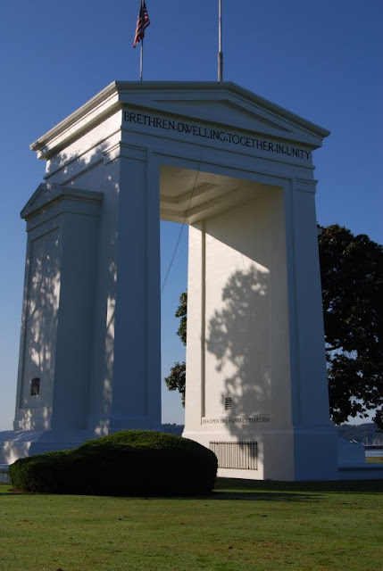 Peace Arch in Blaine / Credit: Bellingham Whatcom County Tourism