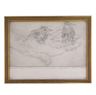 Frederick Sigfred Franck Signed Etching