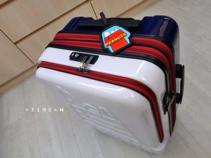 7 史努比登機箱 關西空港 關西旅遊 大阪旅遊 必買 戰利品