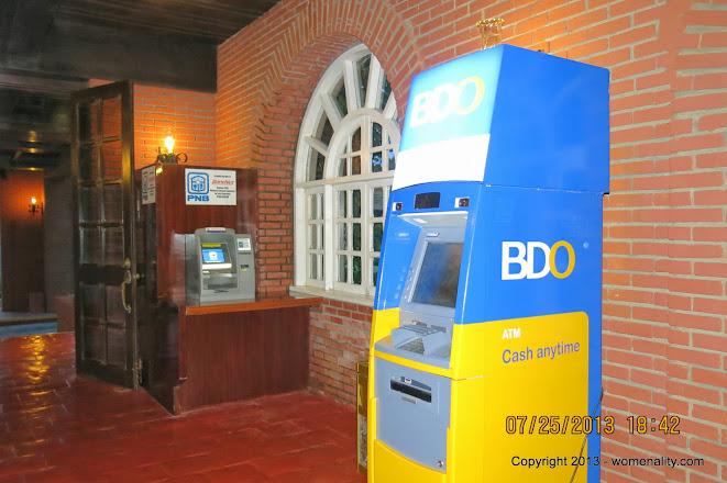 ATMs inside Fort Ilocandia