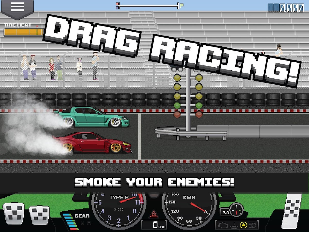 Pixel Car Racer- screenshot