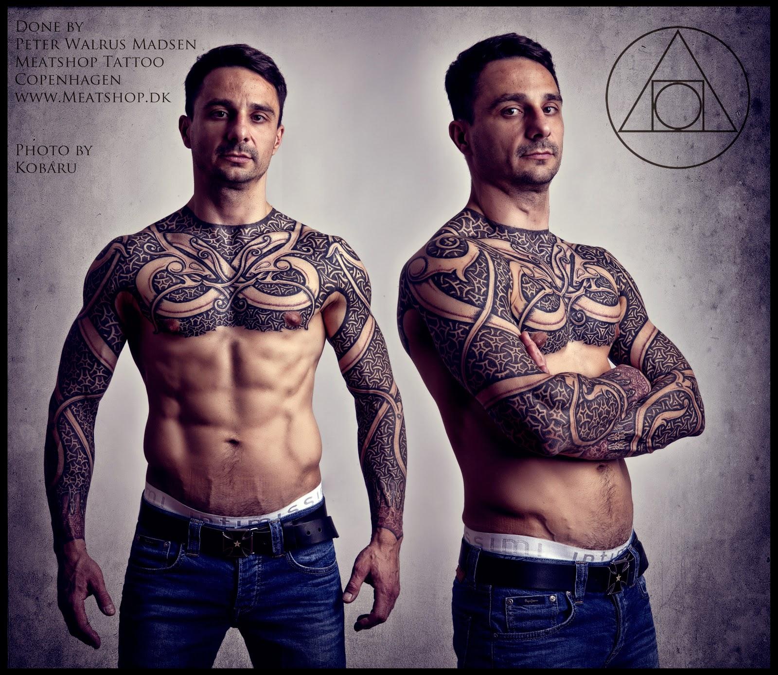 Armor of Wyrms tattoo by Meatshop Tattoo on DeviantArt
