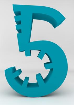 lettre 3D homme joker turquoise - 5 - images libres de droit