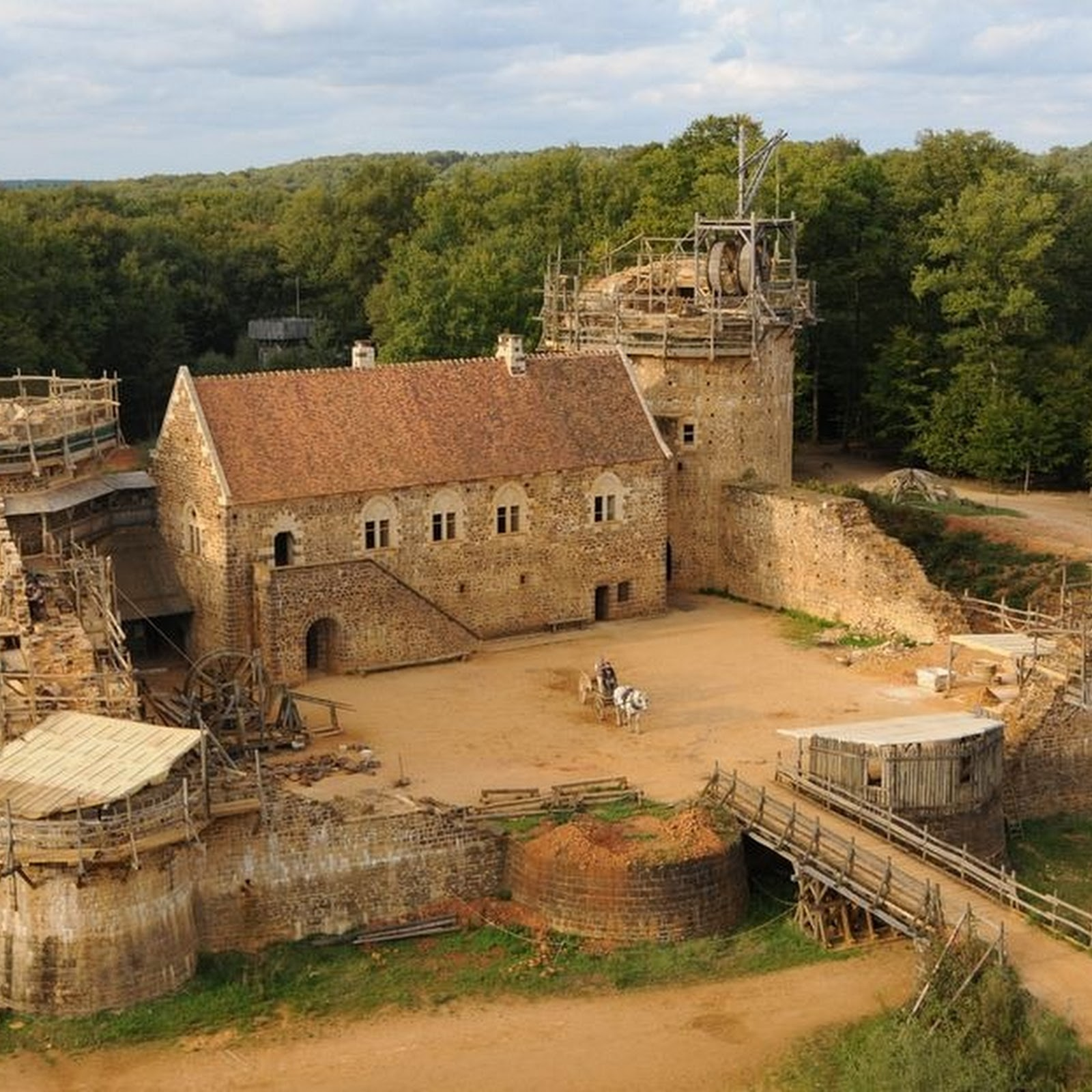Guédelon Castle: France's Brand New Medieval Castle