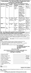 Garhwal Rifles Regimental Centre Lansdowne Recruitment 2016