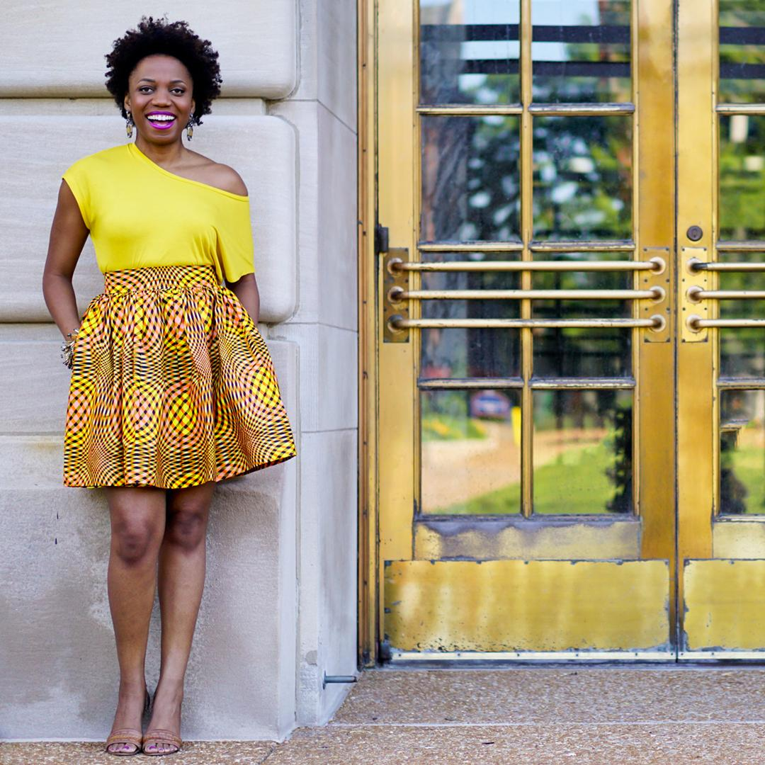 AFRICAN PRINT DRESSES AND STYLES WILL SLANT IN 2019 7