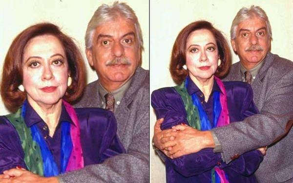 Hugo Carvana e Fernanda Montenegro em O Dono Do Mundo