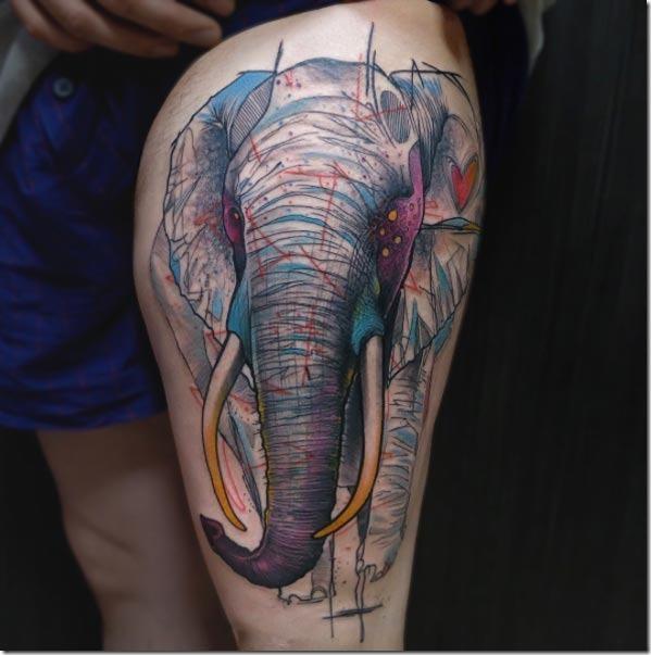 Este épico de elefante