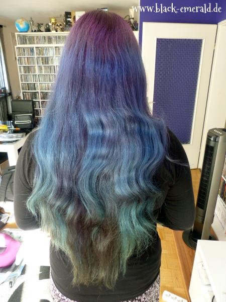 Black Emerald Neue Haarfarbe Nach Dem Urlaub