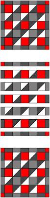 Quilt Ladies 52 Weeks of Quilt Pattern Blocks, Week 34, free Church Window Quilt Pattern
