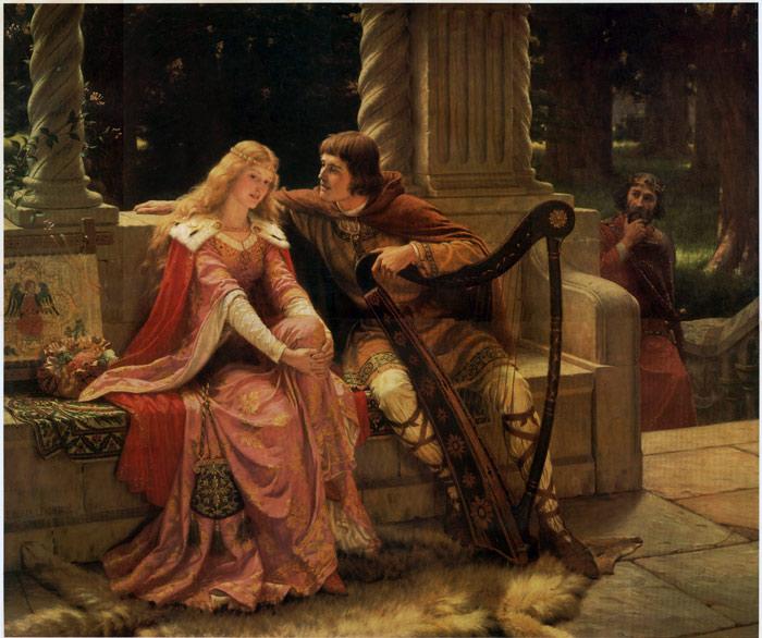 Edmund Blair Leighton - Tristan and Isolde