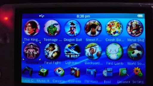 "DSC 1422 thumb%25255B4%25255D - 【ガジェット】怪しさ満点!「4.3"" Game Console MP5 Media Player (8GB)」レビュー。中華製PSP風レトロゲームポータブル機【レトロゲーム/パチモノ】"