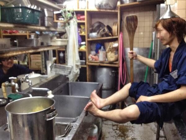 【バカッター】洗浄機イン大学生で炎上の蕎麦屋が破産