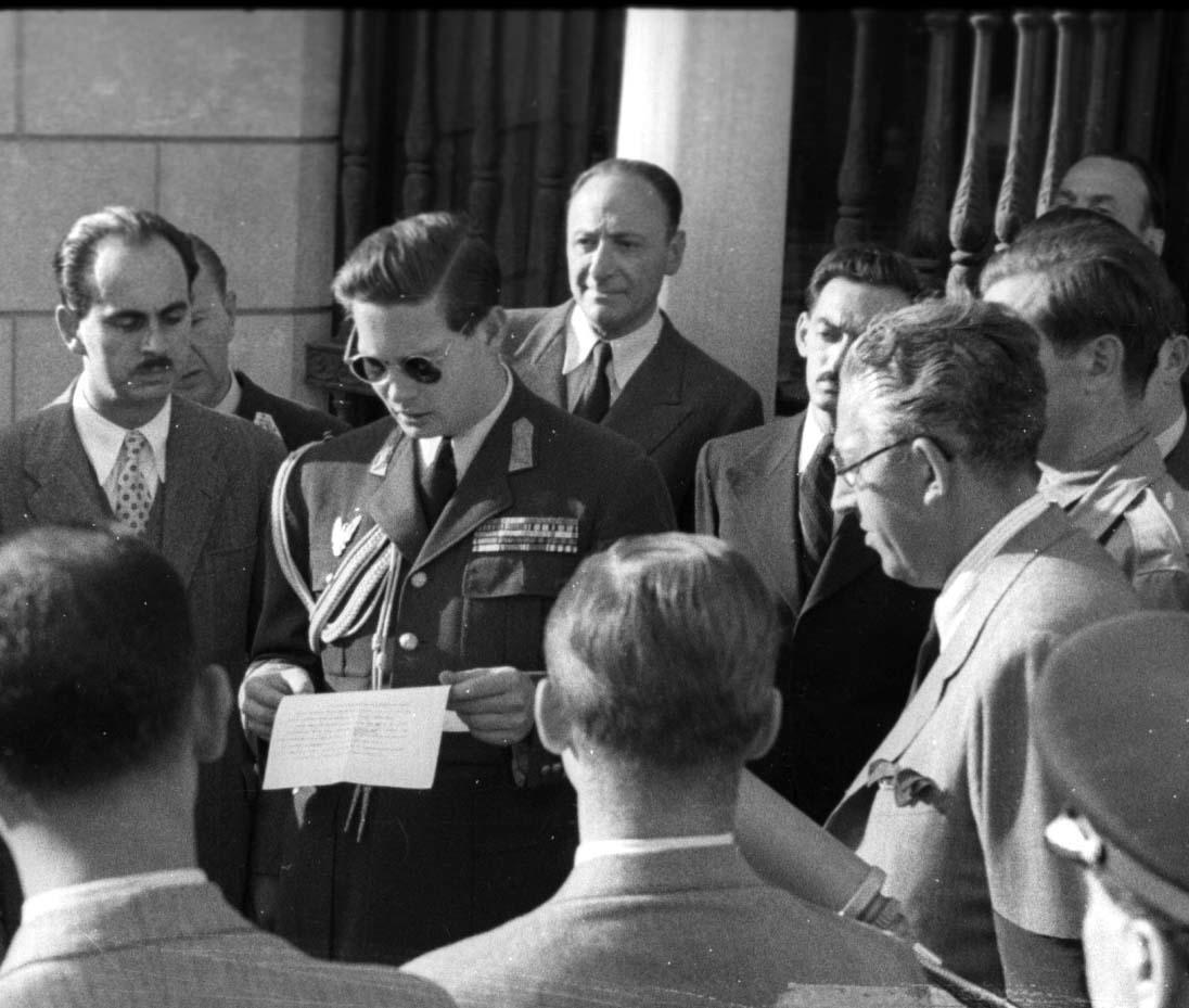Regele Mihai, Palatul Elisabeta, 1947
