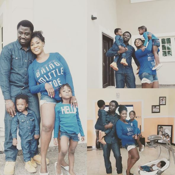 So Sweet! Actress Mercy Johnson Pictured Having Fun With Her Family [See Photos]