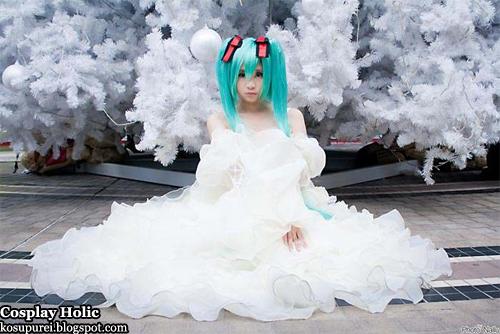 vocaloid 2 cosplay - hatsune miku 24