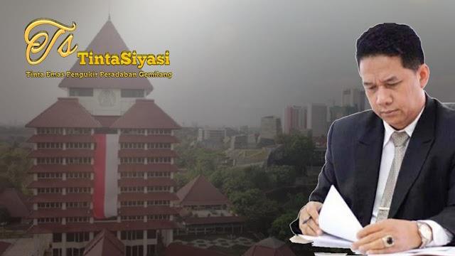 Rektor UI Rangkap Jabatan, Prof. Suteki: Eh, Hukumnya yang Minta Maaf?