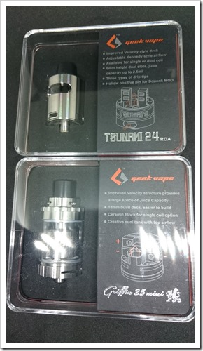DSC 2456 thumb%25255B2%25255D - 【RDA&RTA】「Geekvape Tsunami 24 RDA Glass Windowバージョン」&「Griffin 25 Mini RTA」2製品レビュー!【追記あり】