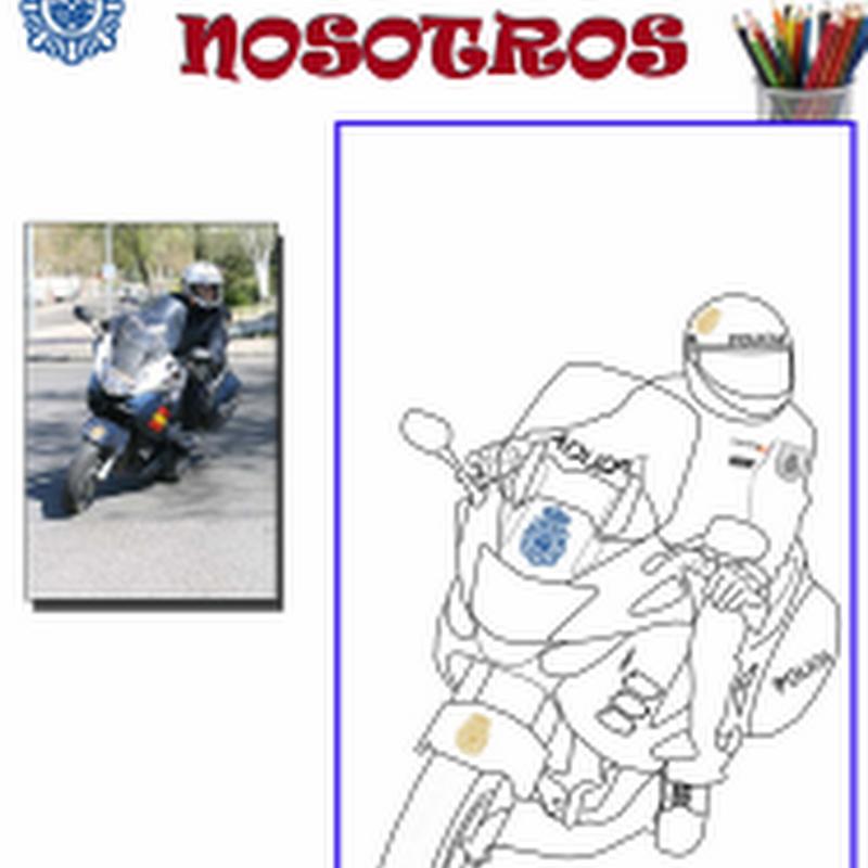 Dibujo de Policía para descargar y pintar