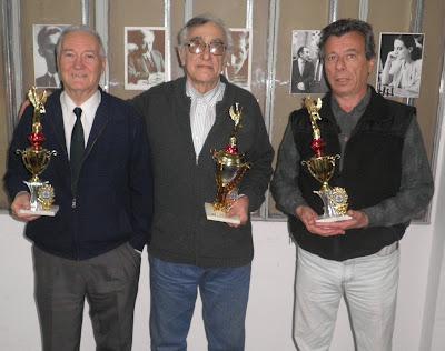 Abel Quercia, Oscar Cachau, Jorge Gasparetto