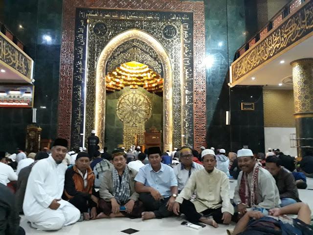 Malam Terakhir Ramadhan 1439 H, Umat Islam Lakukan Itikaf di Masjid Agung Al Aqsha Klaten