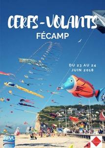 18ème rencontres conviviales de cerf-volistes à Fécamp 2018