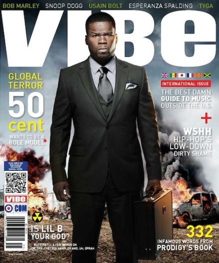 News // 50 Cent En Couv De Vibe US