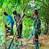 Verifikasi Desa ODF, Babinsa Bersama Puskesmas Cek  Jamban Sehat