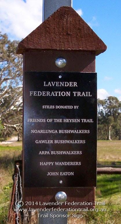 Trail Sponsor Sign